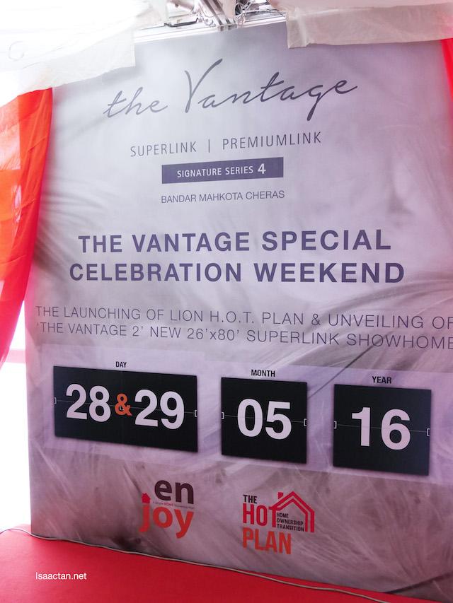 The Vantage Special Weekend Celebration