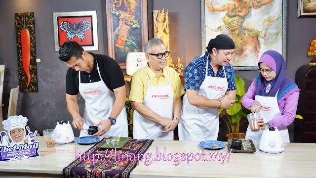 nonabali, shooting bersama chef ismail dan fahrin