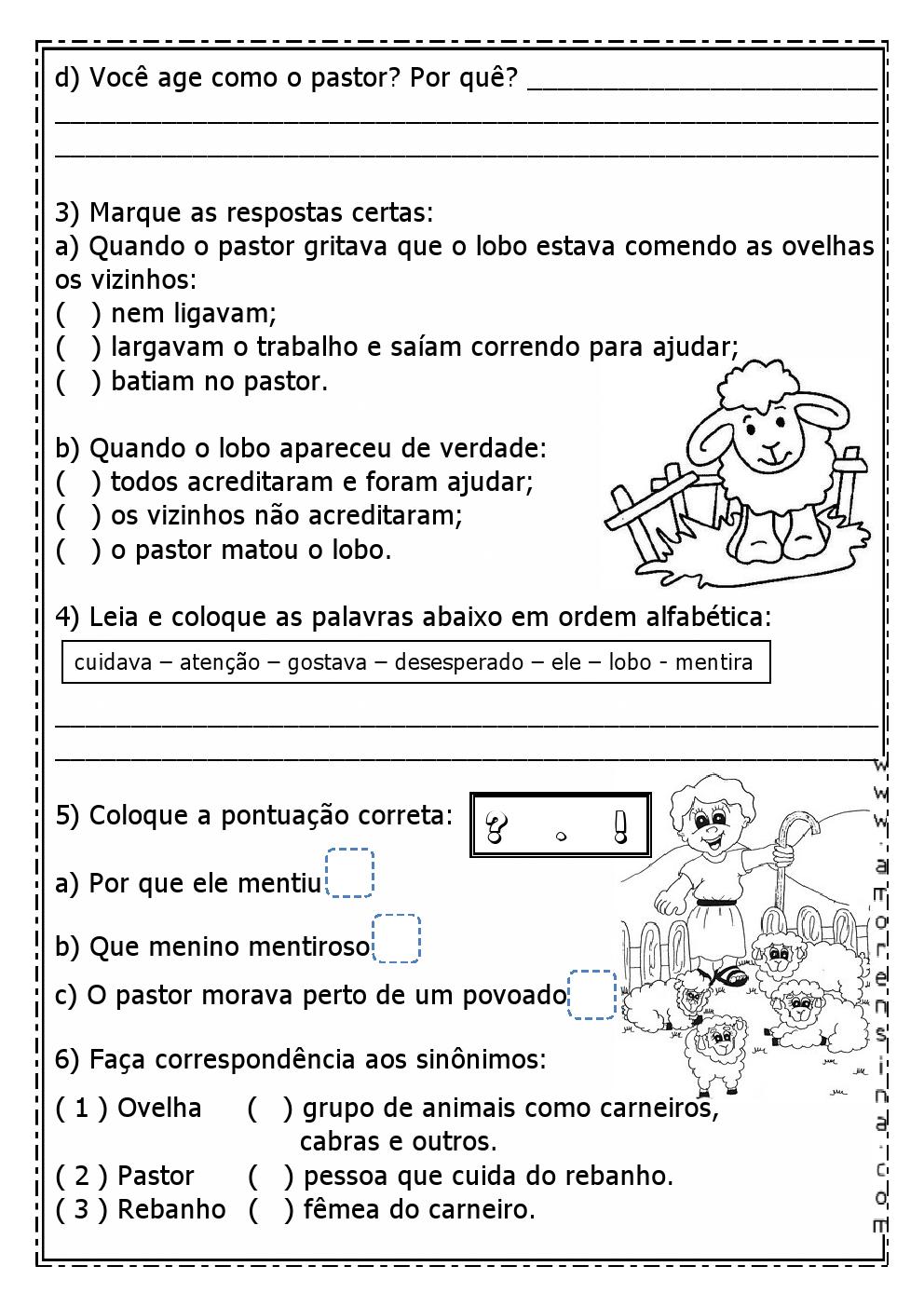 Populares ADORO FÁBULAS! TEXTO E INTERPRETAÇÃO PARA O 2º ANO/ 3º ANO  FC26