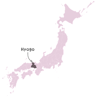 carte japon hyogo