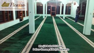 Karpet Sajadah Untuk Masjid, Karpet Masjid Minimalis, Karpet Persia