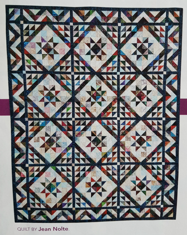 Scrappy Triangles by Jean Nolte | DevotedQuilter.blogspot.com