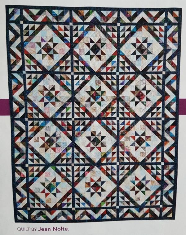 Scrappy Triangles by Jean Nolte | DevotedQuilter.blogspot.com