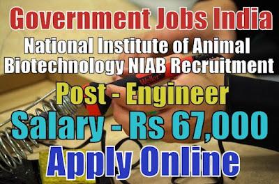 National Institute of Animal Biotechnology NIAB Recruitment 2017