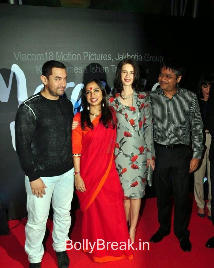 Aamir Khan, Shonali Bose, Kalki Koechlin, Ajit Andhare, Hot Pics of Kalki Koechlin At Launch Of  'Margarita With A Straw'