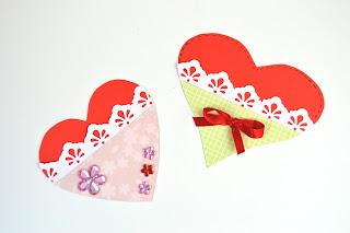 Paper heart - DIY Paper Crafts