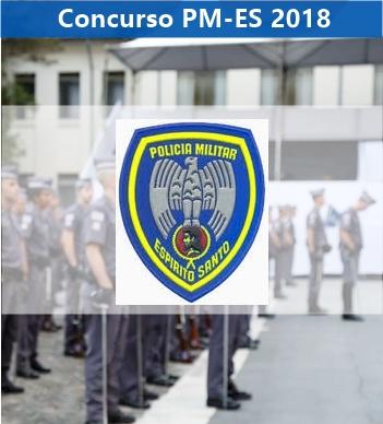 Concurso Polícia Militar ES (PMES) Edital e Inscrição 2018