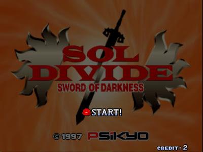 街機:Sol Divide-The Sword Of Darkness(太陽表決)+作弊碼金手指,1997年彩京神話幻想魔法射擊遊戲!