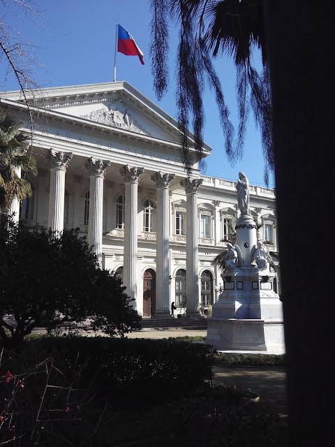 Edificio del Ex Congreso Nacional de Santiago de Chile