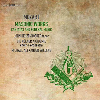 MOZART, W.A. - Masonic Works - Cantatas and Funeral Music (Heuzenroeder, Kölner Akademie Choir and Orchestra, M.A. Willens)