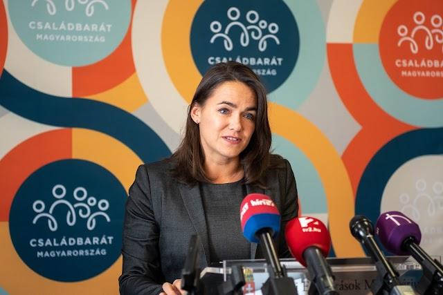 Koronavírus - Novák Katalin: a családok biztonságérzetének fenntartására is törekszik a kormány