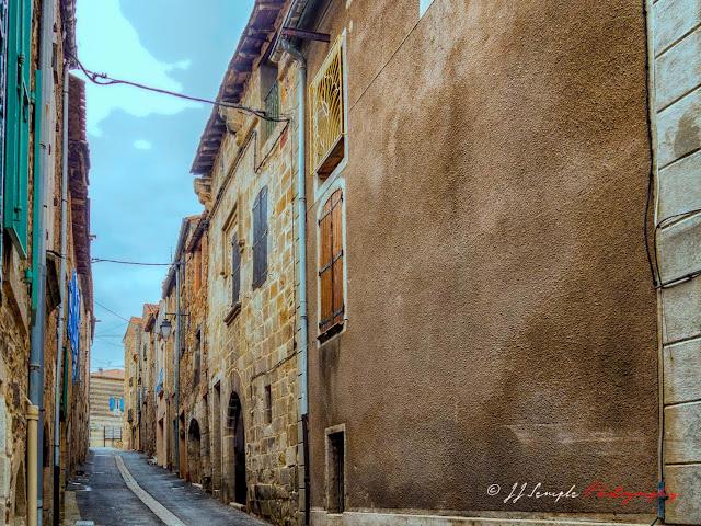 Main Street St. Jean, l'Herault, france