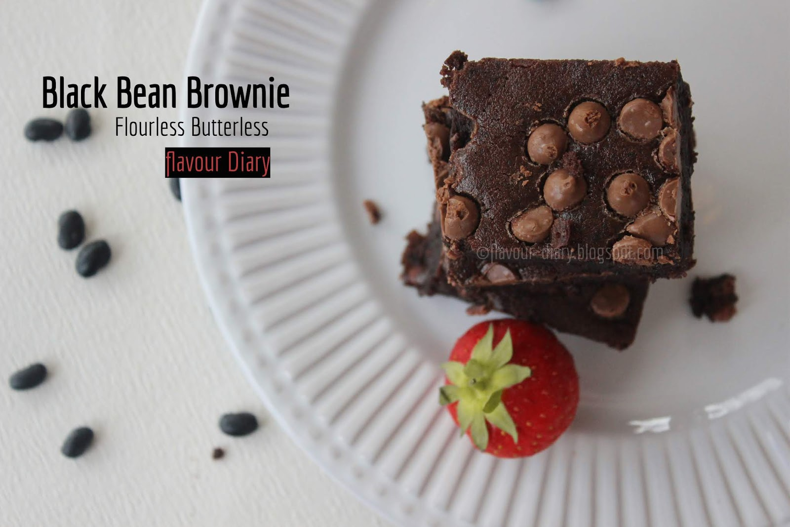 Black Bean Brownie healthy baking recipe