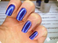 niebieski metalic