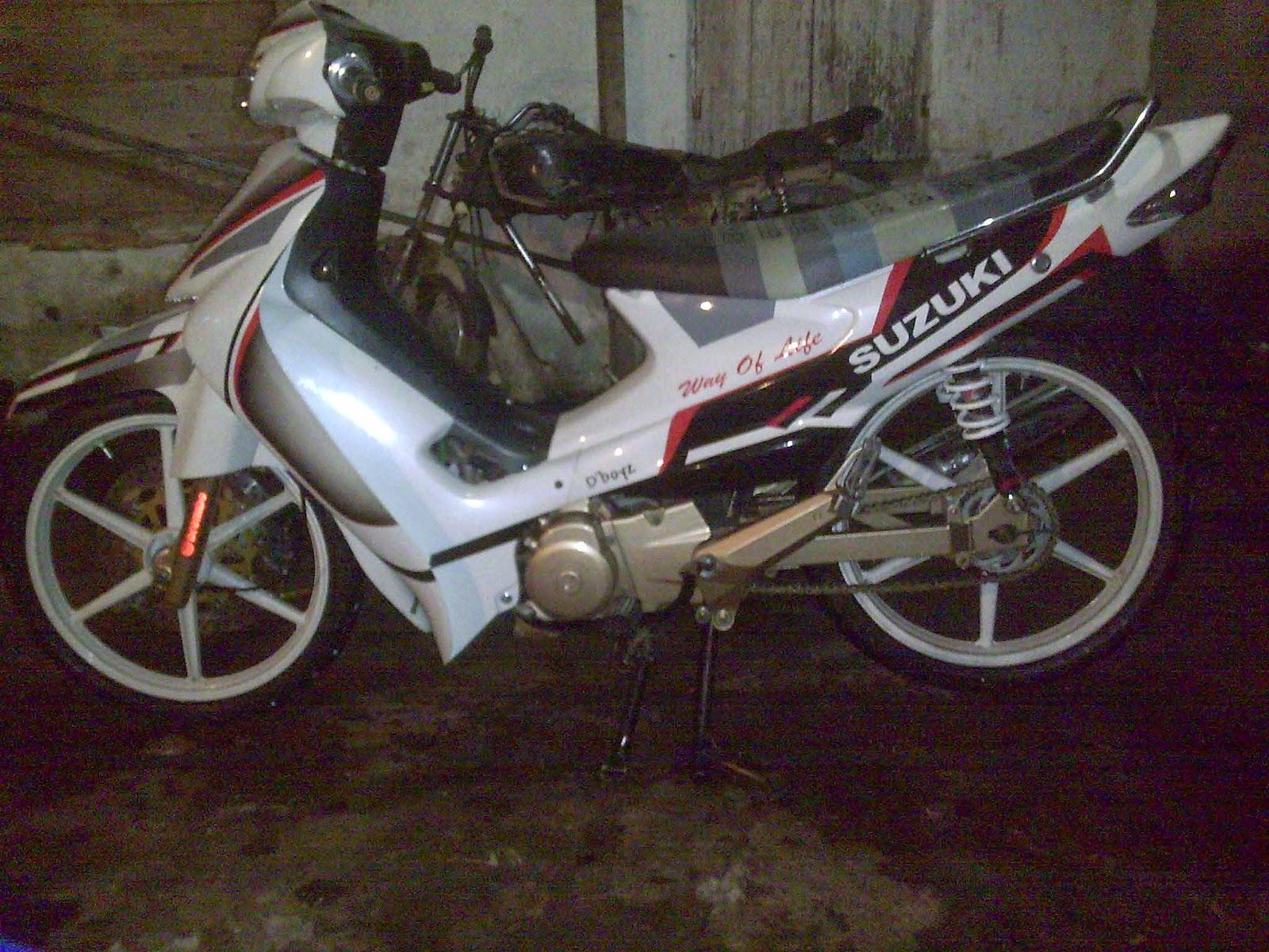 Koleksi Modifikasi Motor Suzuki Smash Terkeren