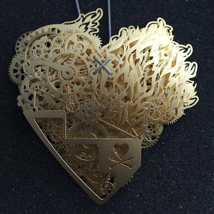 Сердце из бумаги Франка Тьепкема 3