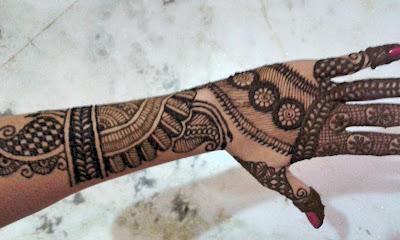 Mehandi designs- Bhag 2