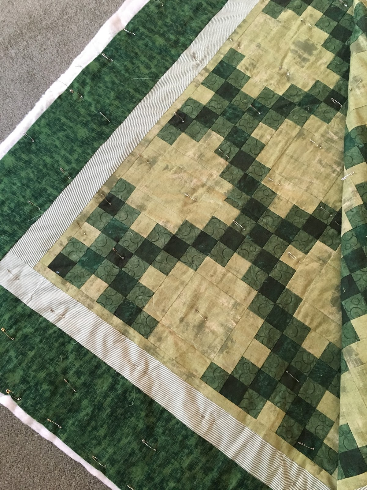frayed edge: the hand quilting frame-up