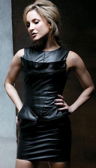 Leather Fashion Lovers... Nicole Scherzinger Facebook