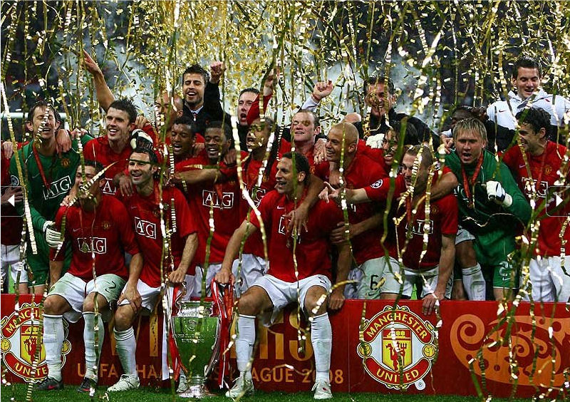 Final Matches 2008 Moscow Russia Manchester United 1 1