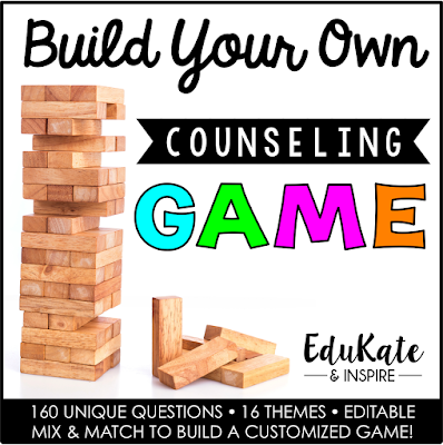 Build Your Own Counseling Game with Jenga