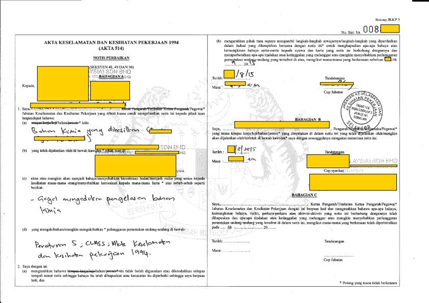Safety Data Sheets (SDS) Translation, SDS Writing /Authoring