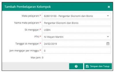 Cara Pengisian Nilai USBN dan UKK Pada Dapodik 2020.a