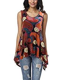 Buy Women's Summer Sleeveless Tank Tops From Amazon