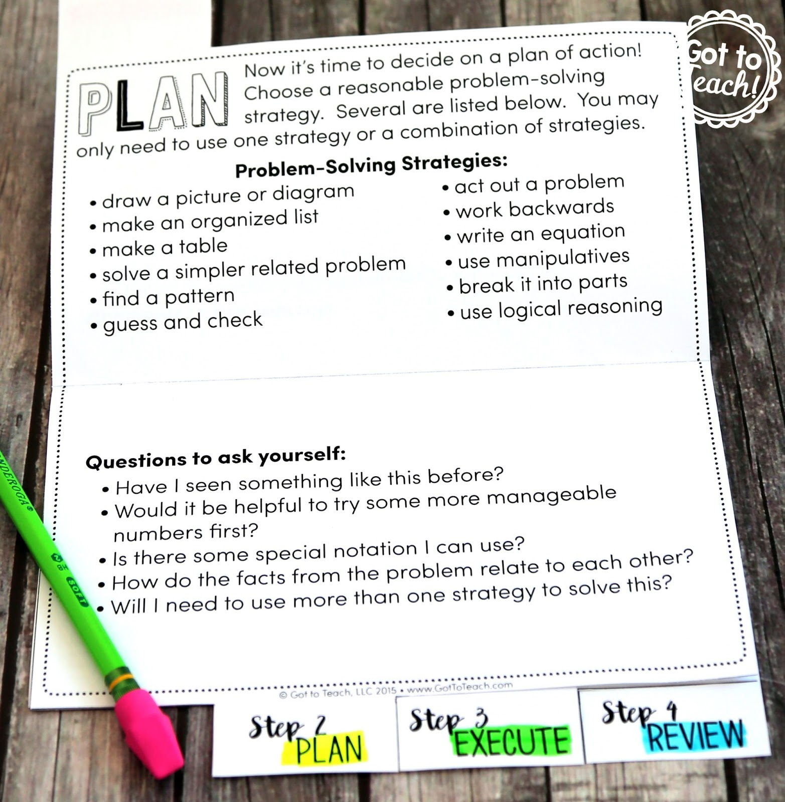 Draw A Diagram Math Problems Cell Membrane Worksheet Problem Solving In • Teacher Thrive