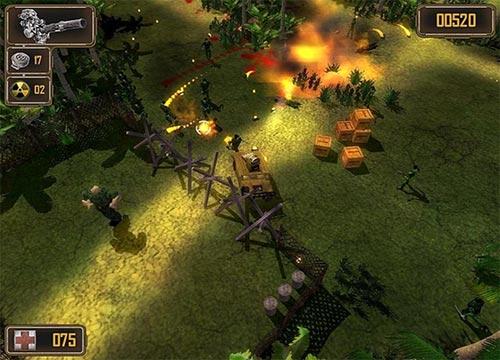 لعبة الاكشن واطلاق النار Jungle Strike مجانا