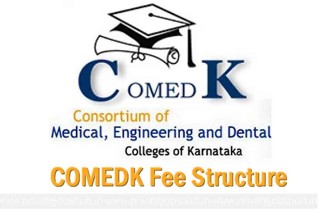 COMEDK Fee Structure