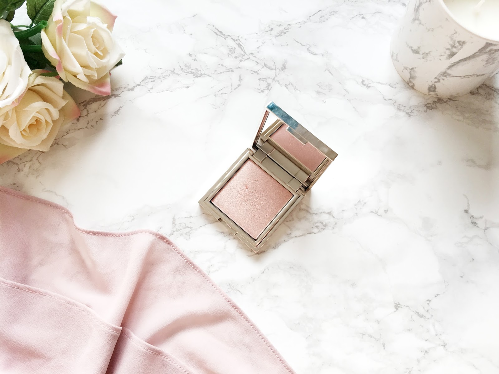 Jouer Powder Highlighter in Rose Quartz