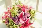 rangkaian bunga pernikahan