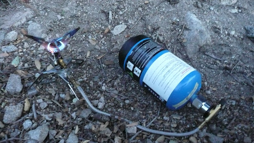 100% Propane For Backpacking