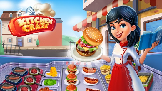Kitchen Craze: Food Restaurant Apk Free on Android Game Download