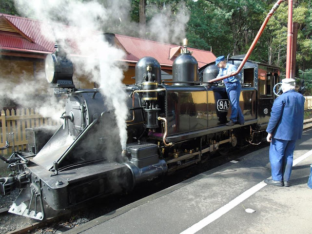 Puffing Billy Steam Railway Australia Puffing Billy Railway PBR NA Class 8a Australian narrow gauge
