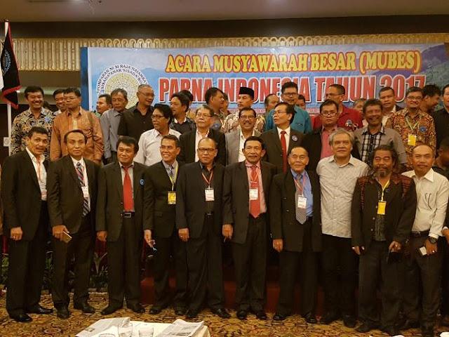 Letjen (Purn) TNI Cornel Simbolon Terpilih Sebagai Ketua Umum PARNA Indonesia 2017-2022