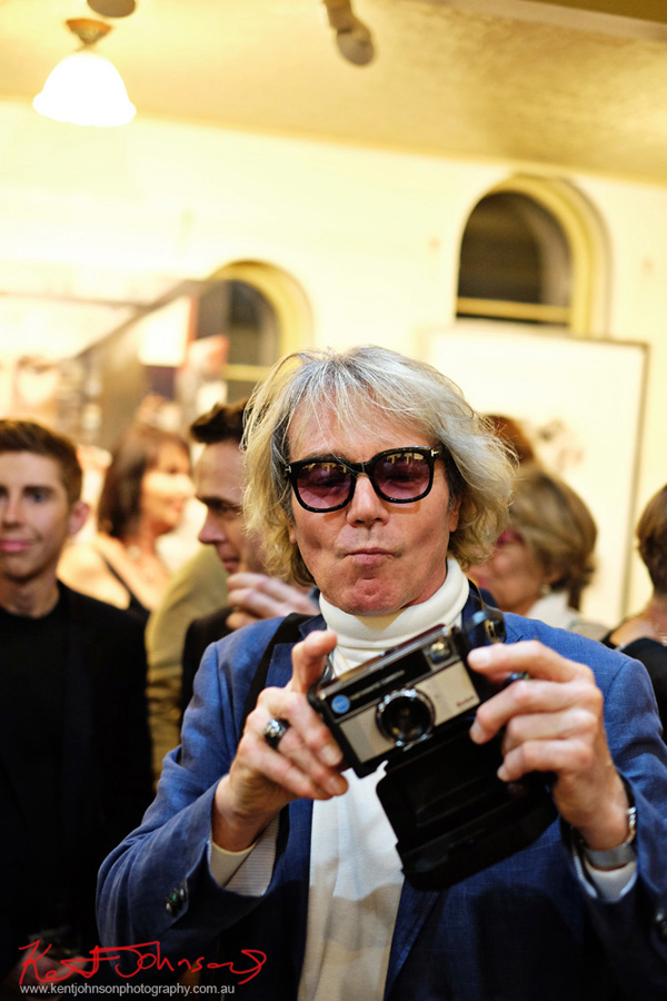 The real Andy Warhol? Dali Sculptures LAUNCH at Billich Gallery - Photography by Kent Johnson for Street Fashion Sydney