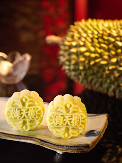 Source: Pan Pacific Singapore. The Mao Shan Wang  Durian Snowskin Mooncake.
