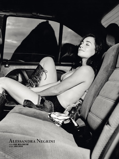 Fotos de Alessandra Negrini nua pelada na Playboy