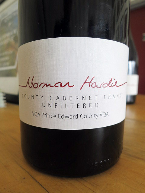 Norman Hardie County Cabernet Franc 2015 (90 pts)