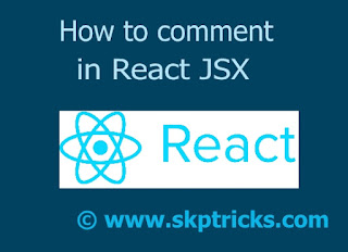 How to comment in React JSX