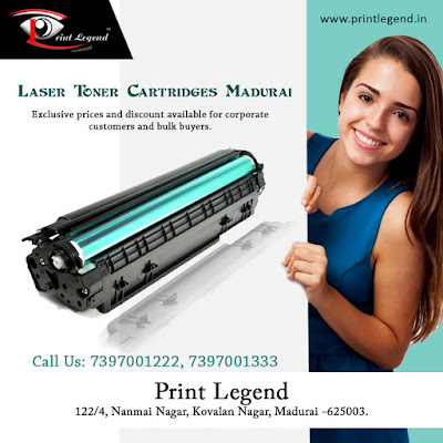"""Healing The World & Satisfying The Needs -""Laser Toner Cartridges Madurai"""