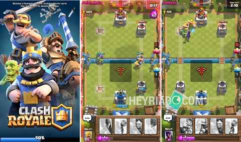 Mengatasi Clash Royale Loading 50%