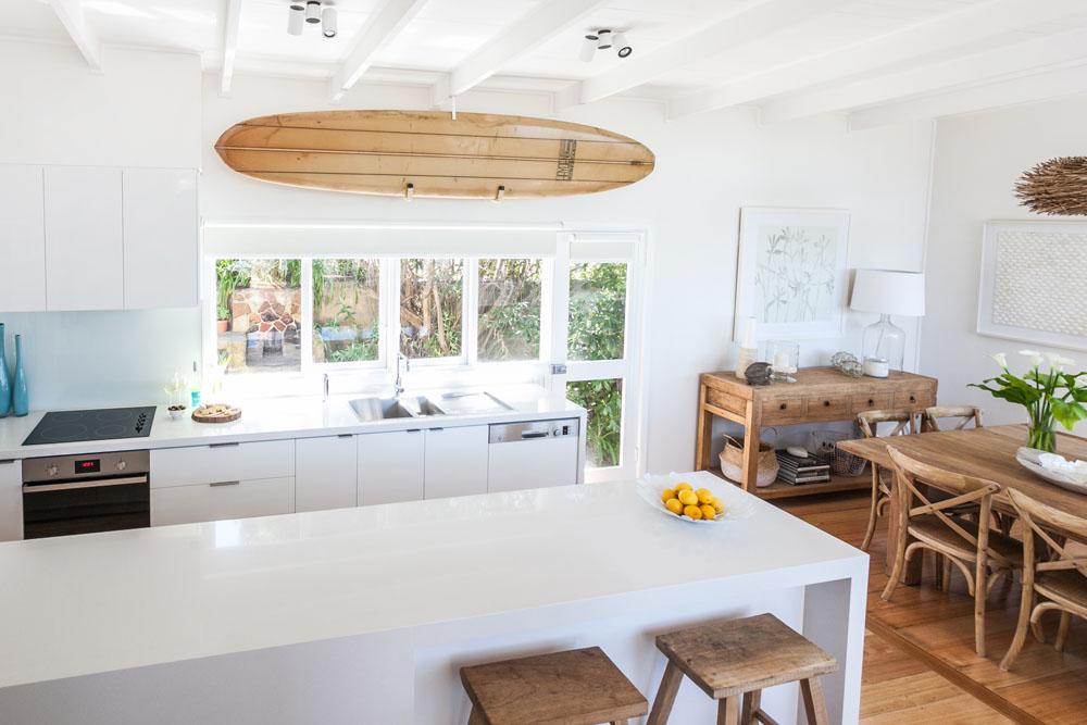Coastal Style My Beach House The Kitchen