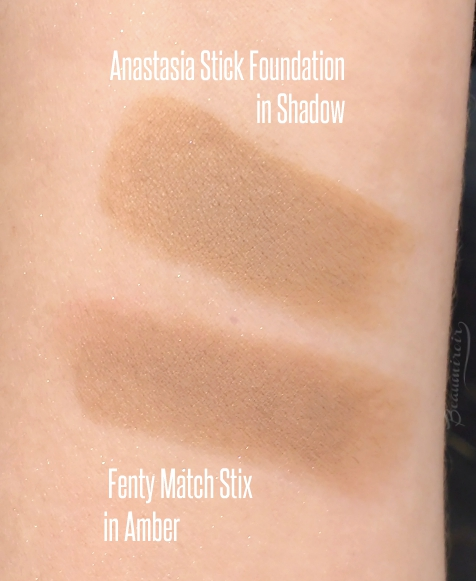 Match Stick Skinstick Amber vs Anastasia stick in Shadow