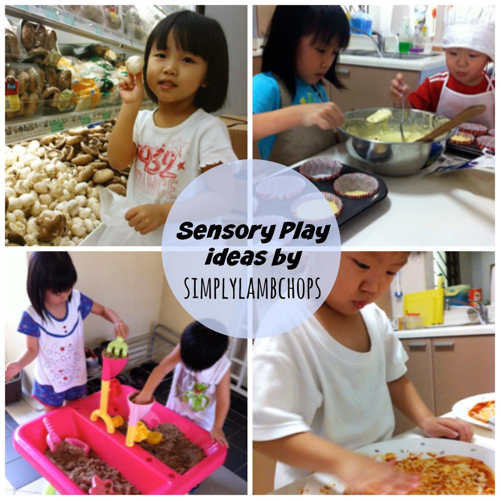 Sensory Play ideas by Simply Lambchops