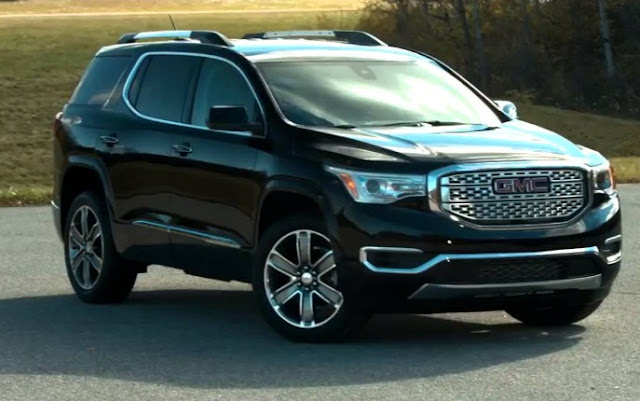 2017 GMC Acadia Review UK