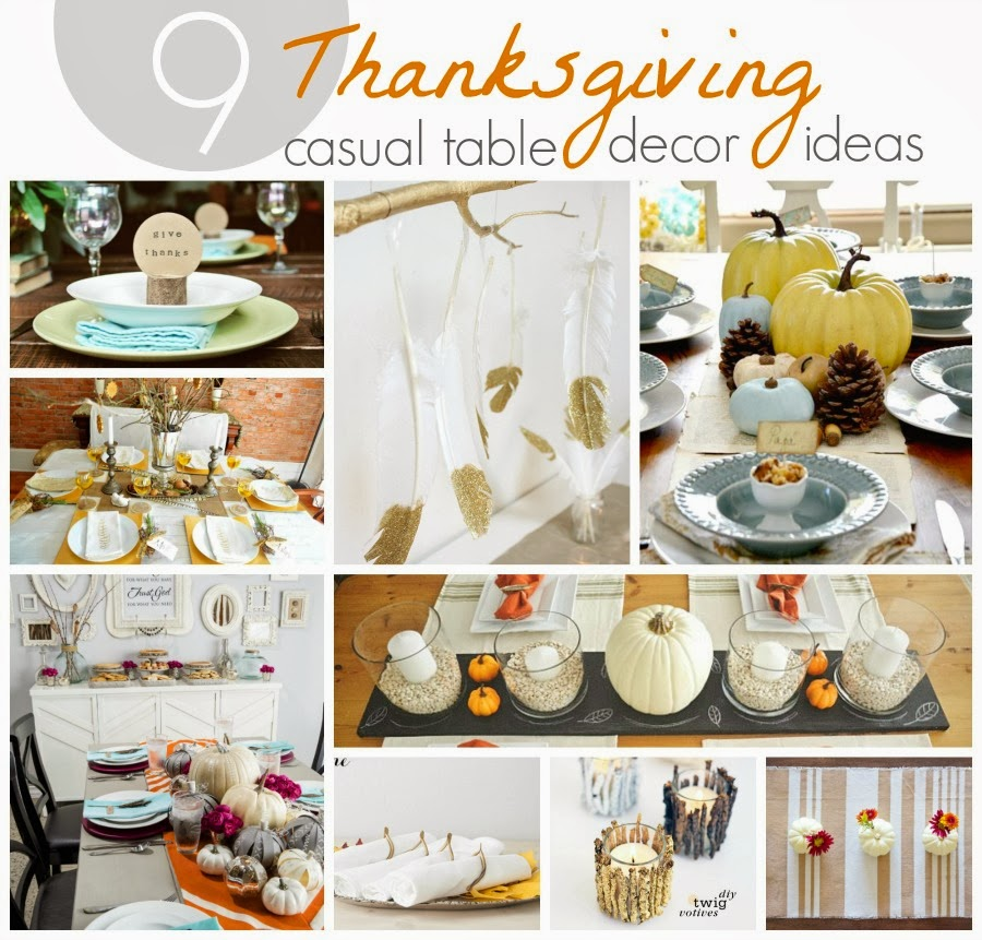 Thanksgiving Decoration Ideas For Table: 9 Thanksgiving Table Decor Ideas & Target #MYKINDOFHOLIDAY