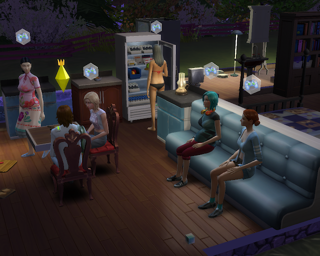 The sims 4 | Club Gathering